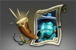 Auspicious Mythical Announcer: Storm Spirit