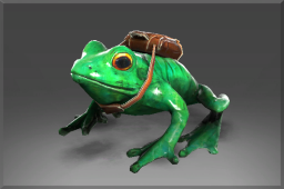 Skip the Delivery Frog What he lacks in size he makes up for in character.