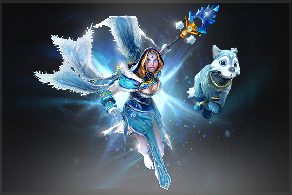 Dota 2 Wallpaper Crystal Maiden Frost Avalanche Bundle