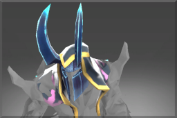 Rare Horned Helm of the Frozen Apostle