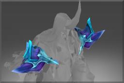 Heroic Common Shoulderplates of Evil Spirit