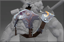 Rare Ogre's Caustic Steel Blinders