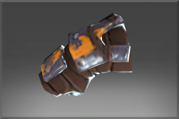 Common Ogre's Caustic Steel Bracers