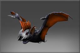 Inscribed Mythical Bertha the Morde-bat