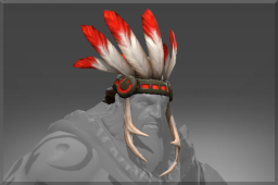 Rare Chieftain Headdress of the West