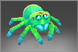 Strange Immortal Lycosidae's Spiderling