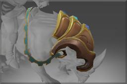 Rare Thrice-Gemmed Barding of Sanurok