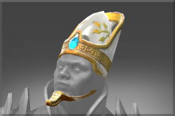 Rare Gemmed Mitre of the Priest Kings