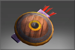 Auspicious Uncommon Lost Hills Shield