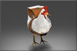 Cluckles the Brave Many critters can be trained to ferry tools into battle.  Few will do so while wearing a jetpack!