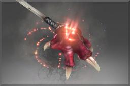 Mythical Darkclaw Emissary Staff