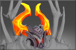 Rare Helm of Eternal Fire