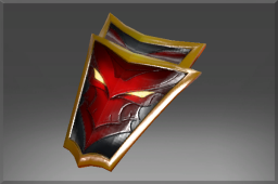 Uncommon Crimson Wyvern Shield
