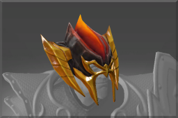 Uncommon Helm of the Fire Dragon