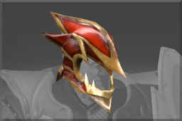 Rare Dragonbone Helm of Sir Davion
