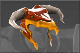 Strange Inscribed Wyrm Helm of Uldorak