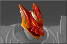 Rare Crimson Wyvern Helm