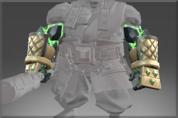 Common Plated Bracers of the Demon Stone