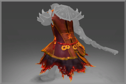 Infused Mythical Tunic of the Wandering Flame