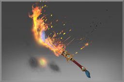 Mythical Off-Hand Sword of the Smoldering Sage