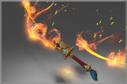 Mythical Sword of the Smoldering Sage