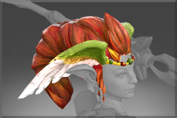 Rare Headdress of the Wildwing's Blessing