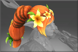 Inscribed Rare Spring's Lilium Crown