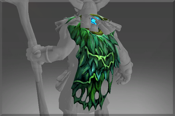 ToXiC RadiAtiOn's Great Moss Cape of the Fungal Lord