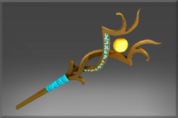 Inscribed Uncommon Runestaff of Verodicia
