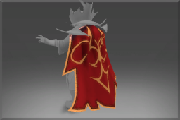 Strange Inscribed Common Cape of the Burning Cabal