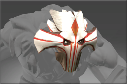 Uncommon Death Mask of the Brave