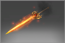 Mythical Spear of the Daemonfell Flame
