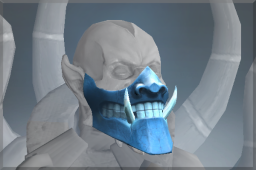 Rare Frozen Emperor's Demon Mask