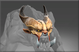 Rare Horned Visage of the Ravenous Fiend