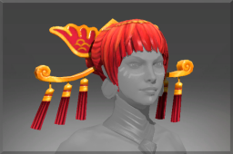 Rare Headdress of the Ember Crane