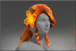 Uncommon Braid of Fiery Curls