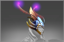 Mythical Helm of the Reef Kyte Rider
