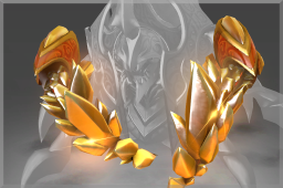 Genuine Immortal Golden Latticean Shards