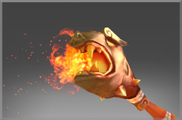 Auspicious Rare Flaming Scepter of Ancestral Luck