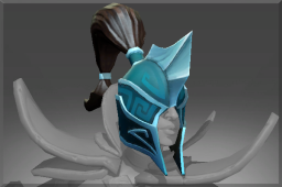 Auspicious Rare Helm of the Dark Wraith