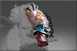 Heroic Uncommon Emblazoned Arm of Delicacies of Butchery
