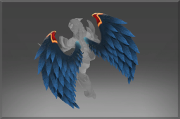 Rare Wings of the Dark Angel