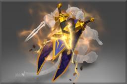 Inscribed Immortal Golden Shadow Masquerade