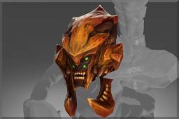 Genuine Rare Skull of the Red Sand Warrior