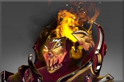 Immortal Golden Mantle of Grim Facade