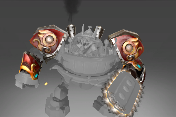 ToXiC RadiAtiOn's Pauldrons of the Steam Chopper