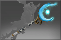 Auspicious Rare Rune Forged Staff