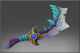 Frozen Rare Deep Warden's Prized Scimitar