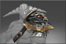 Uncommon Pauldron of The Iron Drakken
