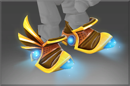 Inscribed Immortal Mecha Boots of Travel Mk III